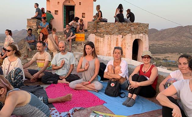 viaje india clases yoga retreat