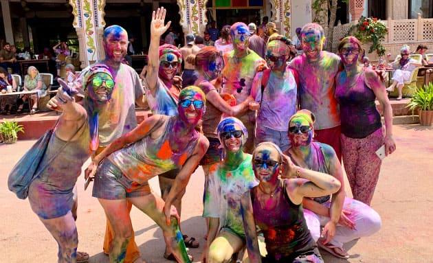 viaje india holi festival