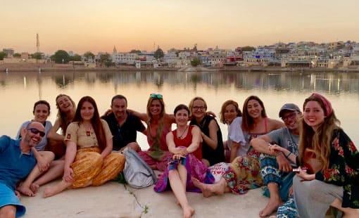 viaje retiro espiritual india