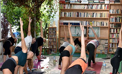 yoga streching online