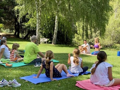 clases yoga online madrid